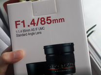 Samyang 85mm f/1.4 AS IF UMC для Canon