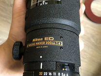 Объектив Nikon 200mm f/4D ED-IF AF Micro-Nikkor