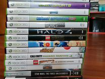Игры на приставку Xbox 360 (17 шт.)