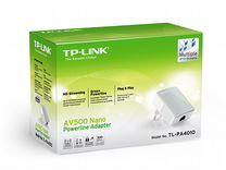 Nano адаптер Powerline стандарта AV500 TL-PA4010